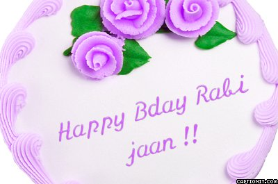 Happy Birthday rosemn aka Rabii 1495055 Miley Jab Hum Tum Forum
