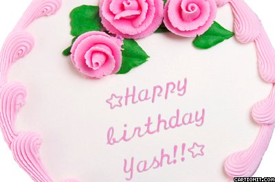 Happy Birthday Yash Www Picturesso Com